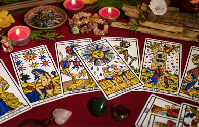 Tarots divinatoires